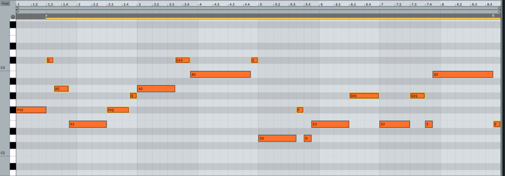 Adding More Bassline Notes To Create Movement