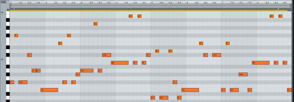 Creating Octave Jumps To Create Movement