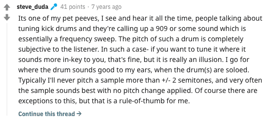 Steve Duda On Tuning Kicks