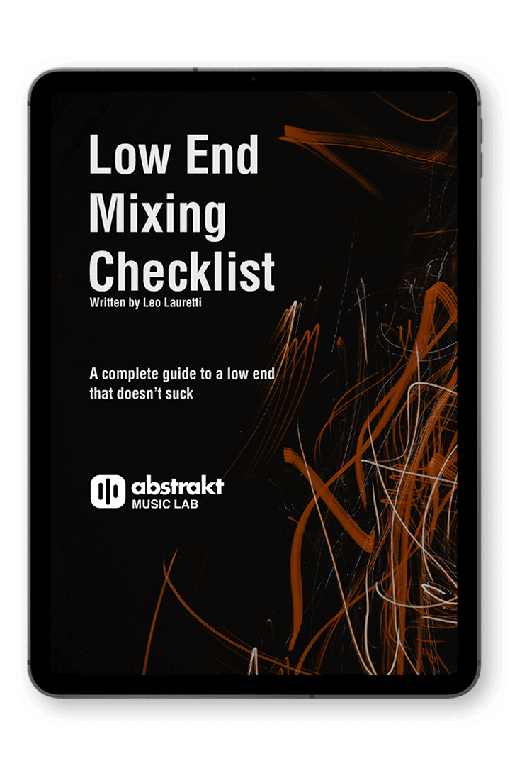 Low End Mixing Checklist