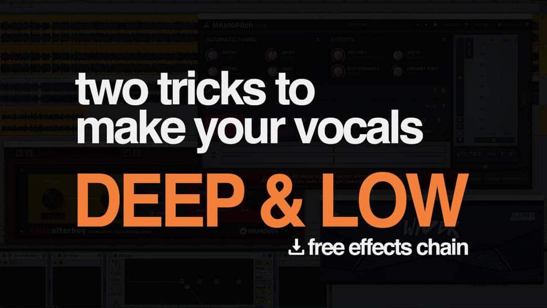 Vocals Deep And Low